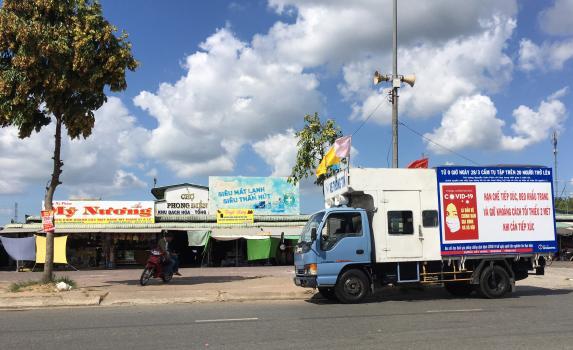 Thành phố Cần Thơ tăng cường công tác tuyên truyền  phòng, chống dịch bệnh Covid – 19